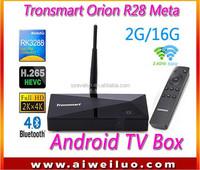 Tronsmart Orion R28 Meta Android TV Box RK3288 Quad Core Smart TV IPTV XBMC 1.8GHz 2G/16G HDM H.265 Media Player 2.4G/5GHz WiFi