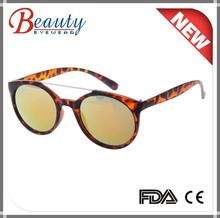 2015 new arrival round frame fashion plastic sunglasses