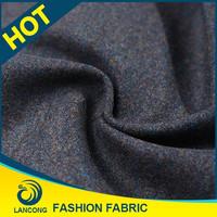 Shaoxing supplier Customized Fashion 100% wool suiting fabric with nano finishing fabric