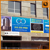 heavy duty pvc banner material, street banners printing, eco-solvent double printable pet banner