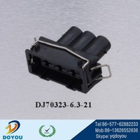 DJ70323-6.3-21 spring clip type male and female cable connector