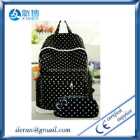 wholesale nylon nice teenagers school book bag for promotion