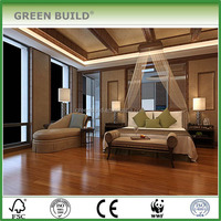 Taun merbau color multi-layer engineered wood flooring locking system