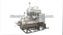 Electric heating side spray sterilizing retort