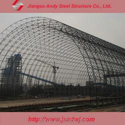 Arched Light Gauge Steel Roof Frame for Coal Yard Shed