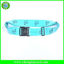 Top Quality Polyester Travel Luggage Belt with Custom Logo