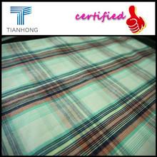 100% Cotton Yarn Dyed Wholesale Fabric/2015 Latest design woven/ELAND korea big check fabric