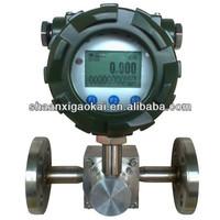 Hot sales ethanol flow meter/volumetric flow meter/digital oval gear flow meter