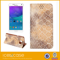 New wholesale cell phone accessories leather phone case for samsung galaxy note5
