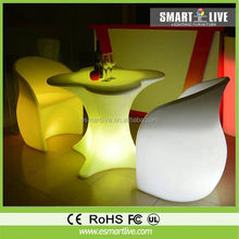 Color changing led sofa furniture for bar/hotel/party/event/restaurant/club