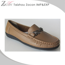 Used Pakistan flat shoes for lady 2016 new product