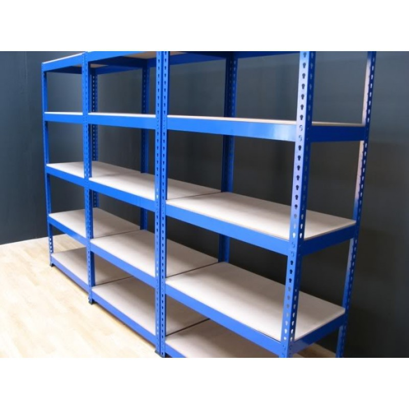 Industrielle 5 niveau de stockage tag re m tallique - Etagere metallique modulable ...
