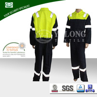 Electrician Industrial Workwear Professional Manufacture fireproof woven uniform