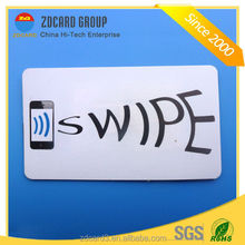 PVC/PET 13.56mhz nfc tag for smart mobile
