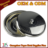 silver plated round tray T203 S