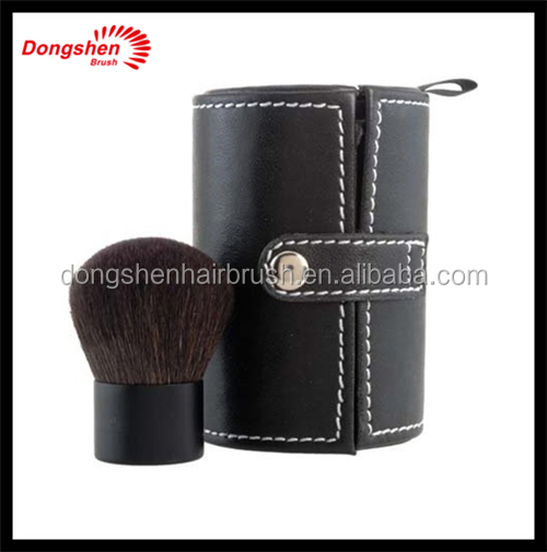 Natural hair Makeup kabuki brush,Wholesale branded,kabuki brush set,up makeup with kabuki bag