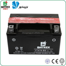 Best Price Scooter Battery 12V 7Ah, Maintenance Free Battery For Scooter