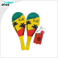 promotional sport Beach racket with training base
