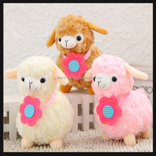 factory made custom stuffed soft toy lamb promotional