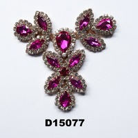 brazil shoe accessory rhinestone acrylic chain for shoes decoration shoes ornaments