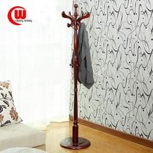 2015 hot sale Eucalyptus wood coatracks clothes stand coat hanger stand manufac European indoor floor white wholesale coatrack