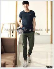 Beginner Brand Men Fashionable T Shirt Short Sleeve Cotton Knitting