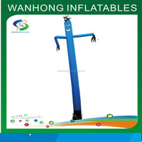 Small advertising tube man blue inflatable air man for sale