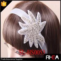 Factory Directly Bridal Headpiece Lace flower Headband vintage headband
