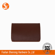 customized design card wallet leather money clip