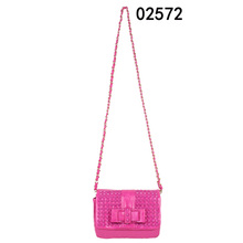 2015 latest design suede lady genuine leather bag handbag