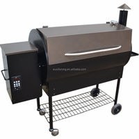 High Quality European Wood Pellet Barbecue Grill