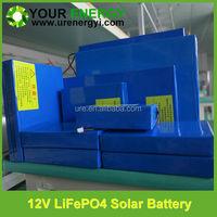solar power battery 12v lifepo4 batteries lithium batteries with solar battery charger 12v