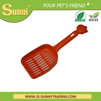 [Sunni]New design pet cleaning product /plastic pet cat toilet training with scoop(good material)
