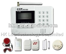 GSM Smart Alarm,Home business Security wireless GSM