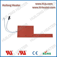 Flexible heater used in semiconductor industry application