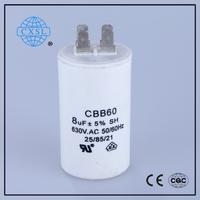 CBB60 Washing Machine Capacitor 472m 2kv