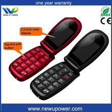 flip phone big voice senior cell mobile phone big keypad