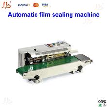 2015 new version Plastic Bag Soild Ink Continuous Band Sealer, Automatic film sealing machine, Sealing Machine