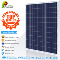 Powerwell Solar Popular Product Polycrystalline Solar Panel System 250 Watt Solar Module With CE,CEC,TUV,ISO,INMETRO Approval