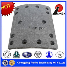 China Supply Cheap Price Rear Leaf Spring Brake System Brake Pad WG9231342068 for HOWO Truck