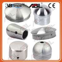 """Newest 304 stainless steel end caps inox 304 Pipe Fittings 304 stainless steel 4"""" rubber end caps"""