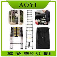 Better Price Best Selling EN131 High Quality 3.8m Telescopic Loft Ladder
