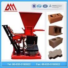 SL1-25 manual hydraform brick making machine, automatic hydraulic interlock
