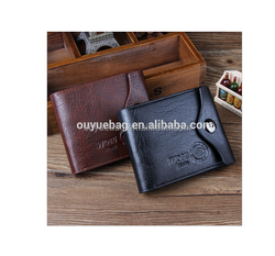 The fashion personalized buckle casual men's short the wallet
