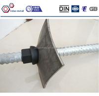 high yield strength thread bar rock bolt with nut