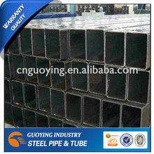 ASTM A500 structural steel square and rectangular profile