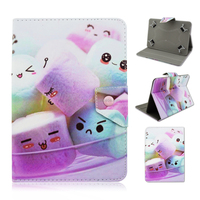 """Cotton Candy Stand 7.9"""" Leather TPU Smart Cover Case For iPad Air"""