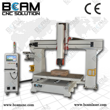 1224 5 axis cnc router wood mould making 1224 1212 5 axis cnc kit