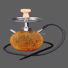 Wholesales stylish crackle glass hookah shisha online,art glass hookah,shisha,nargile,HM132