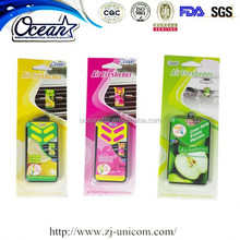 New arrival 3g scent oil wick car air freshener